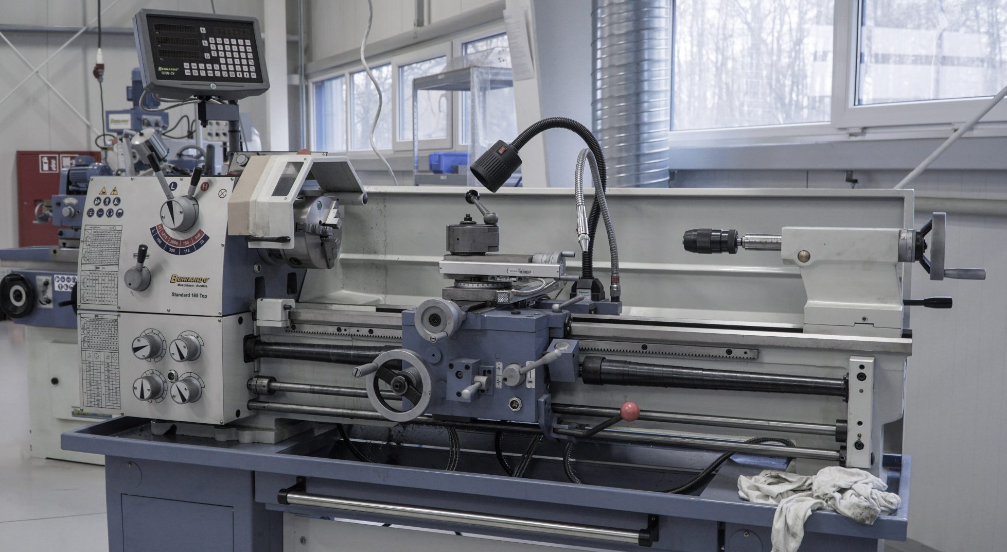 Set of machines for metalworking and welding