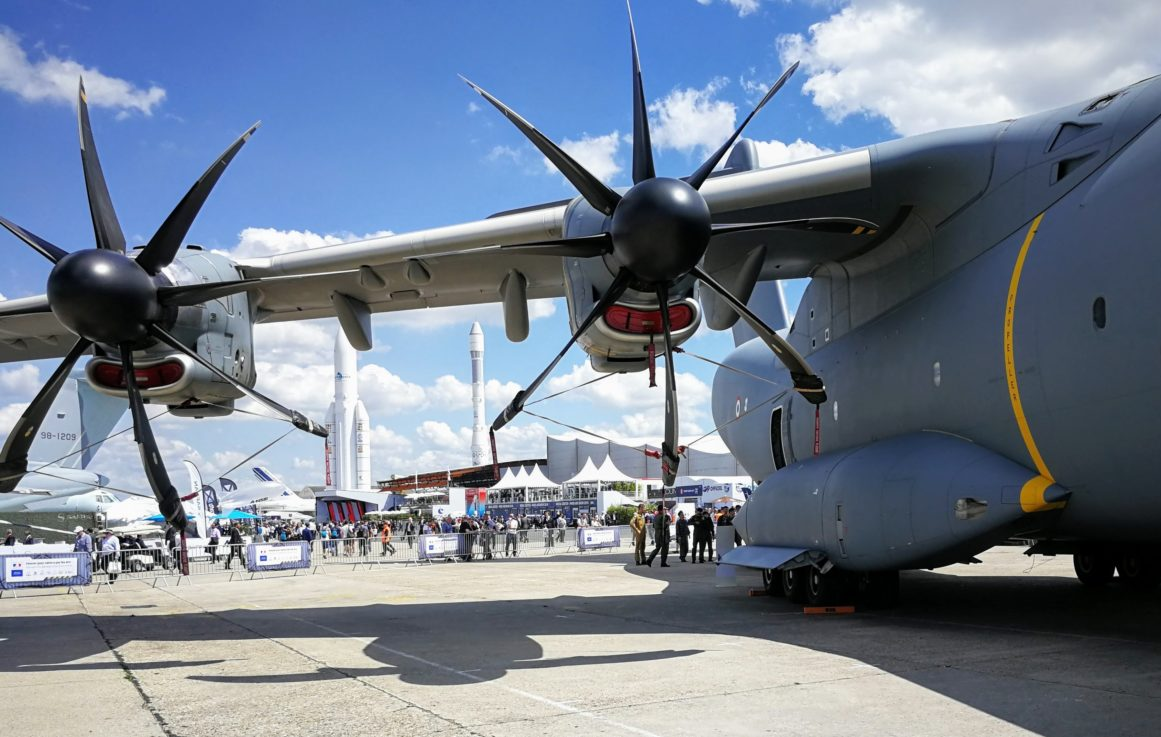 The 53rd International Aerospace Salon Le Bourget